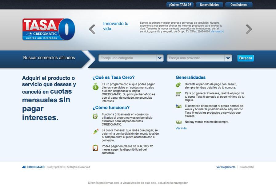 A great web design by Danilo Cappelli, San Jose, Costa Rica: