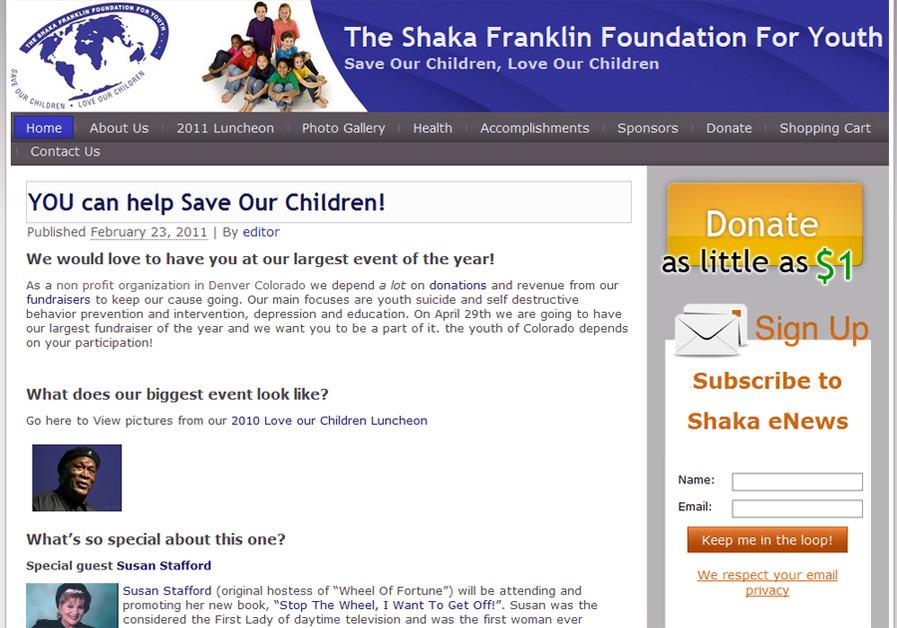A great web design by Chuck Sharpsteen, Denver, CO: