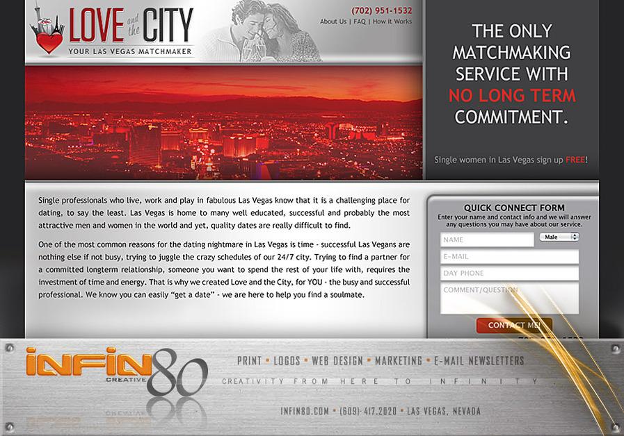 A great web design by infin80 creative, Las Vegas, NV: