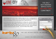A great web design by infin80 creative, Las Vegas, NV: