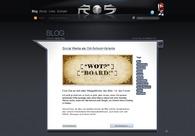 A great web design by Robin Schmitz Webdesigner, Berlin, Germany: