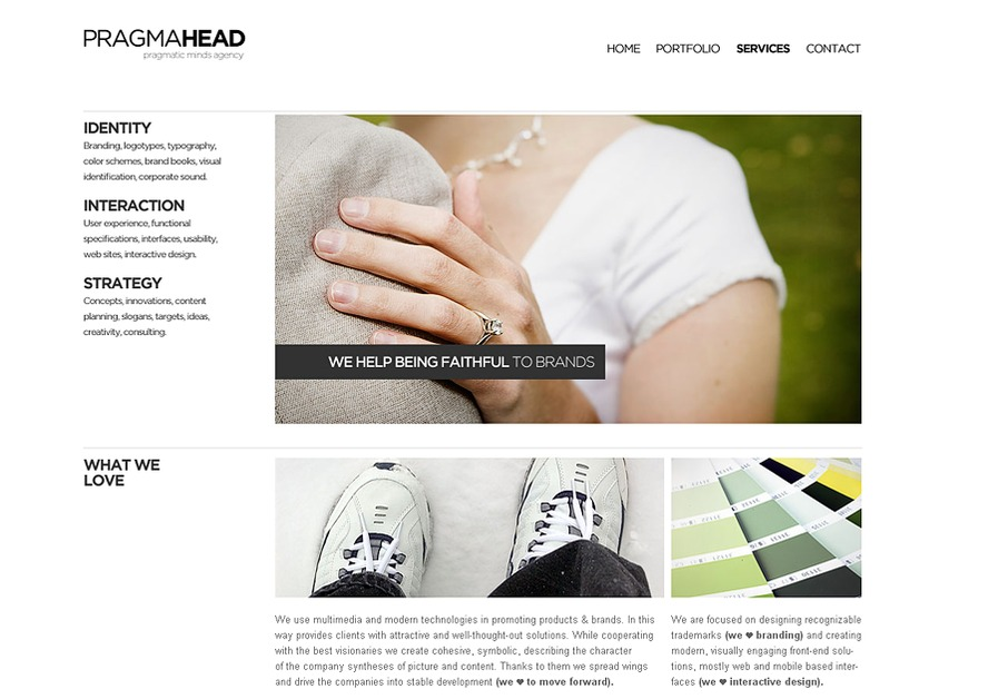 A great web design by PragmaHead, Wroclaw, Poland: