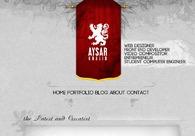 A great web design by Aysar Khalid, Toronto, Canada: