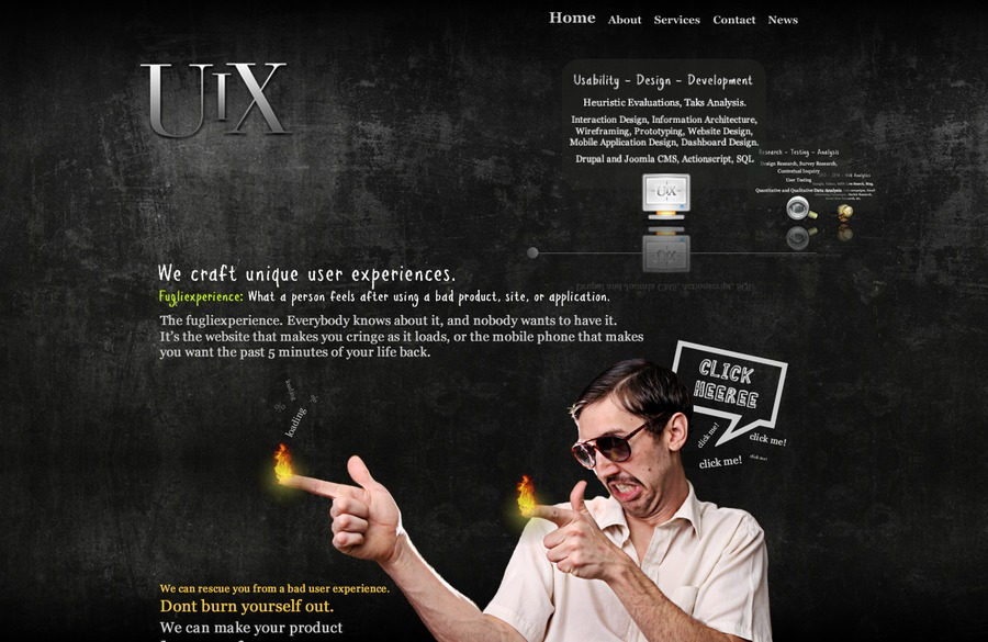 A great web design by UIXperience, LLC., Chicago, IL: