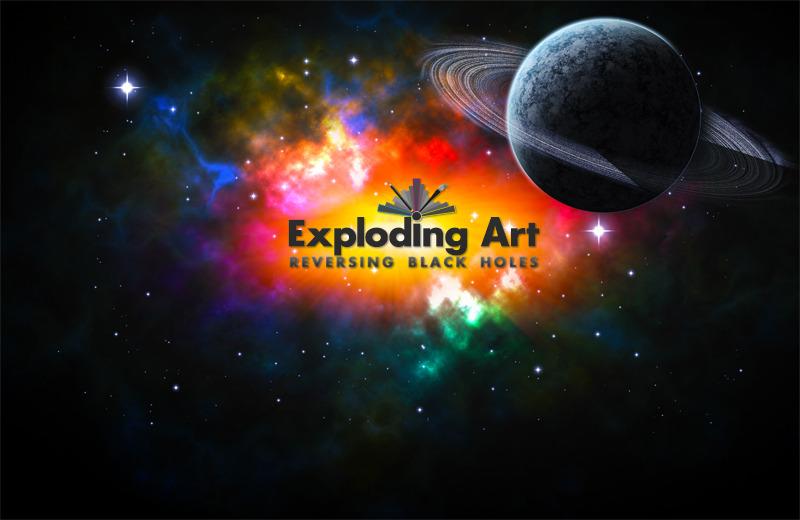 A great web design by Exploding Art, Gothenburg, Sweden: