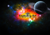 A great web design by Exploding Art, Gothenburg, Sweden: