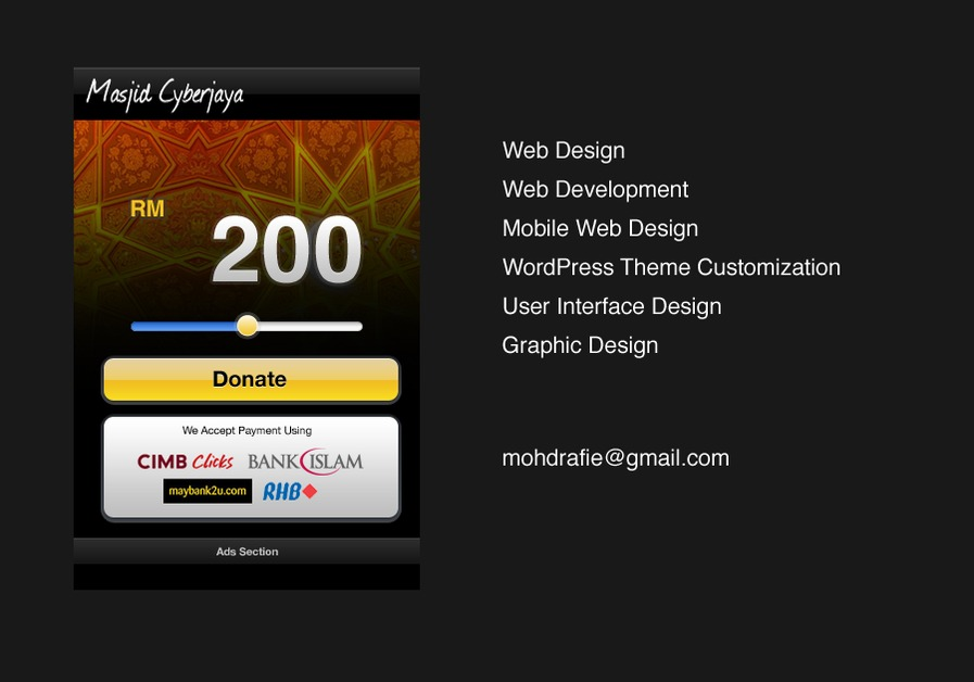A great web design by MRK DESIGN, Kuala Lumpur, Malaysia: