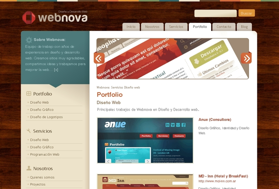 A great web design by Webnova, Boston, MA: