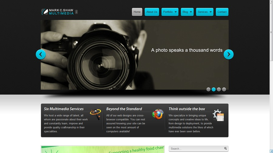 A great web design by Virtually(Creative), Toronto, Canada: