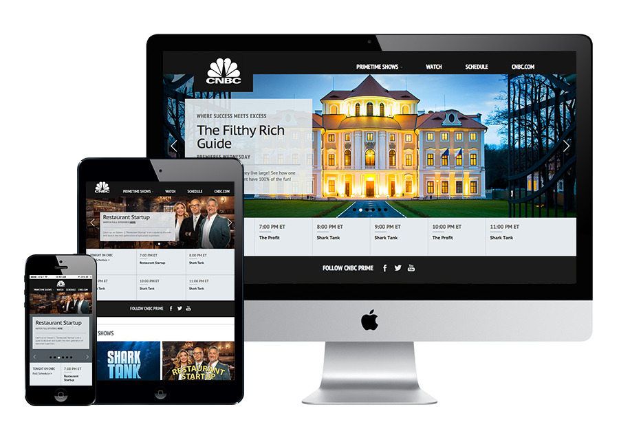 A great web design by Trasaterra, New York, NY: Responsive Website, News , Television , Wordpress