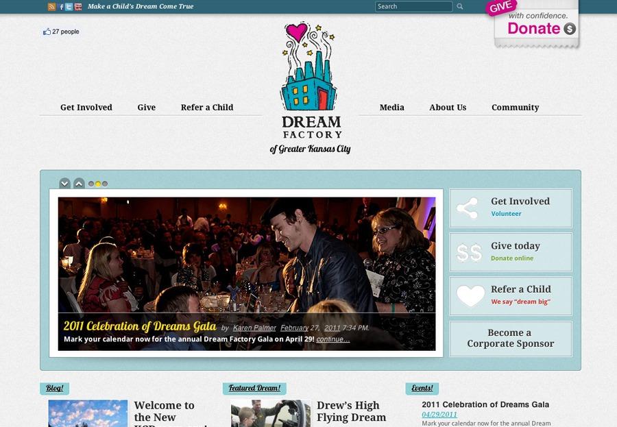 A great web design by &Pixels, Kansas City, MO: