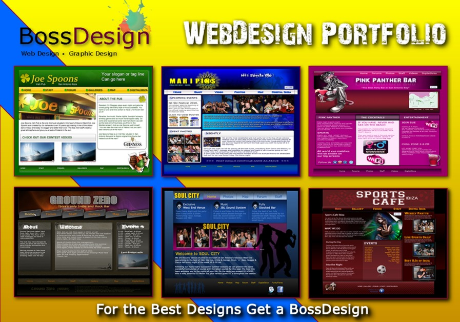 A great web design by BossDesign, Wilmington, NC: