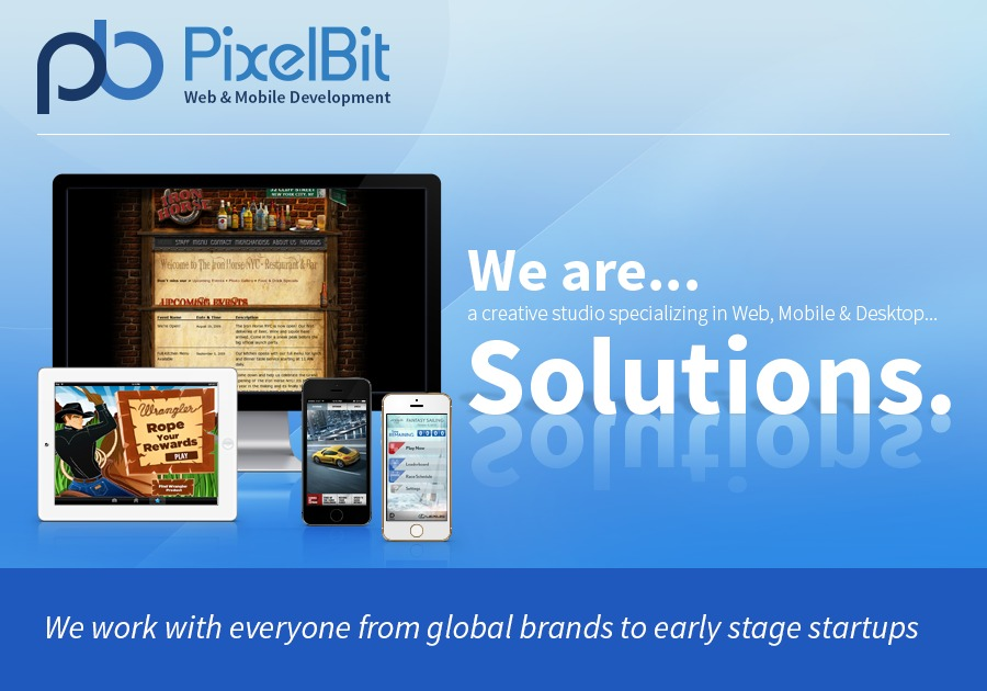 A great web design by PixelBit, Boston, MA: Responsive Website, Portfolio , Software