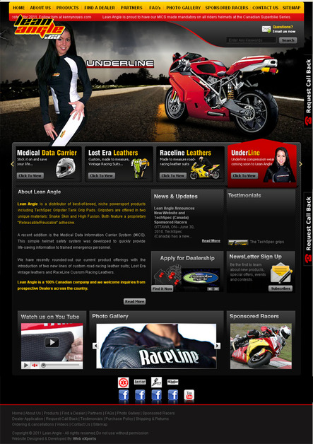 A great web design by Web eXperts: Web Design & Development Company, Sialkot, Pakistan:
