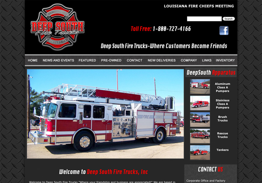 A great web design by C3 Web Studio, Hattiesburg, MS: