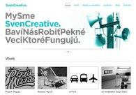 A great web design by Sven Creative, Bratislava, Slovakia:
