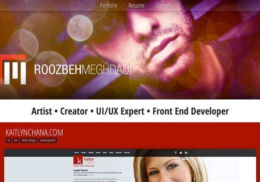 A great web design by ROOZBEHMEGHDADI, Orlando, FL: