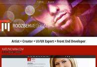 A great web design by ROOZBEHMEGHDADI, Orlando, FL: