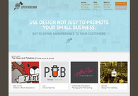 A great web design by Jupiter Woodsman, Portland, OR: