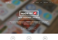 A great web design by MadebyVK, Jakarta, Indonesia: Responsive Website, Portfolio , Internet