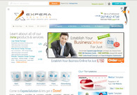 A great web design by Expera Solution: