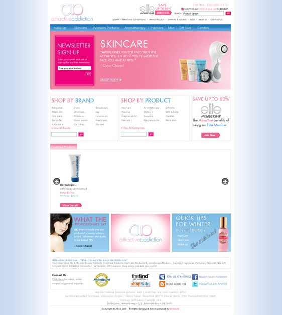 A great web design by Futerox Interactive, New Delhi, India: