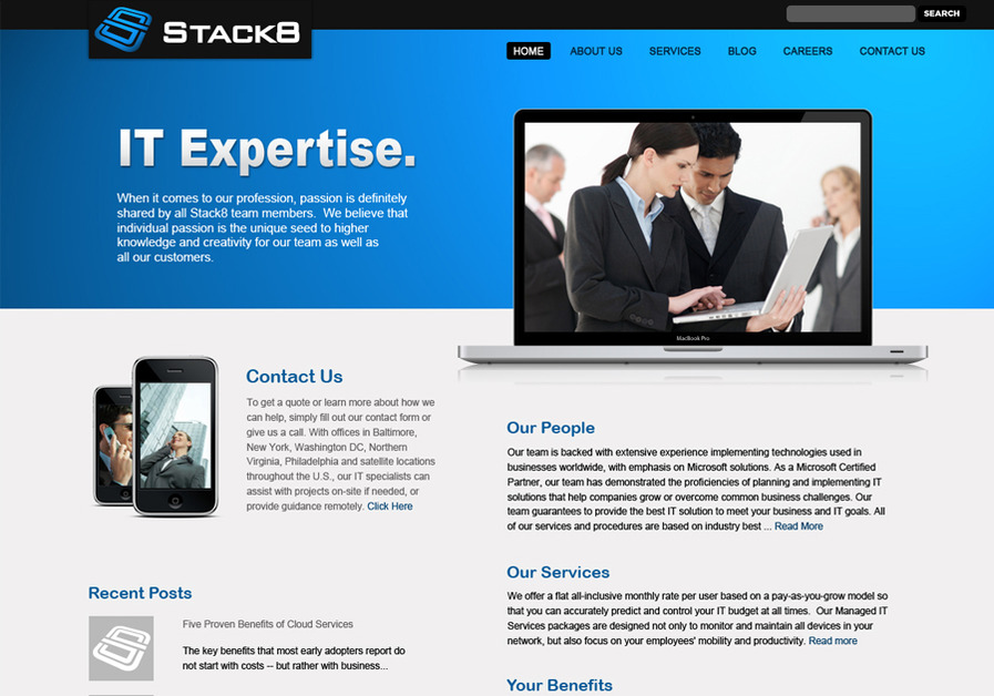 A great web design by Pitch Black Graphics, Fresno, CA: