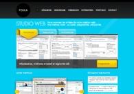 A great web design by Poska, Nantes, France:
