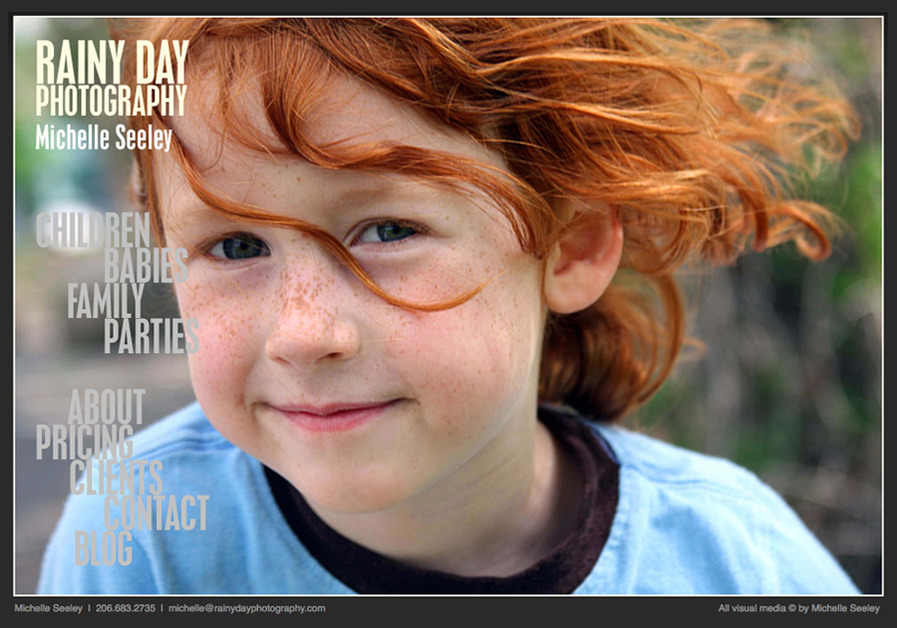 A great web design by Stephen Schildbach, Seattle, WA:
