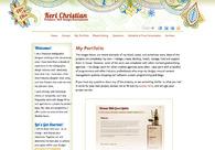 A great web design by Keri Christian, San Francisco, CA: