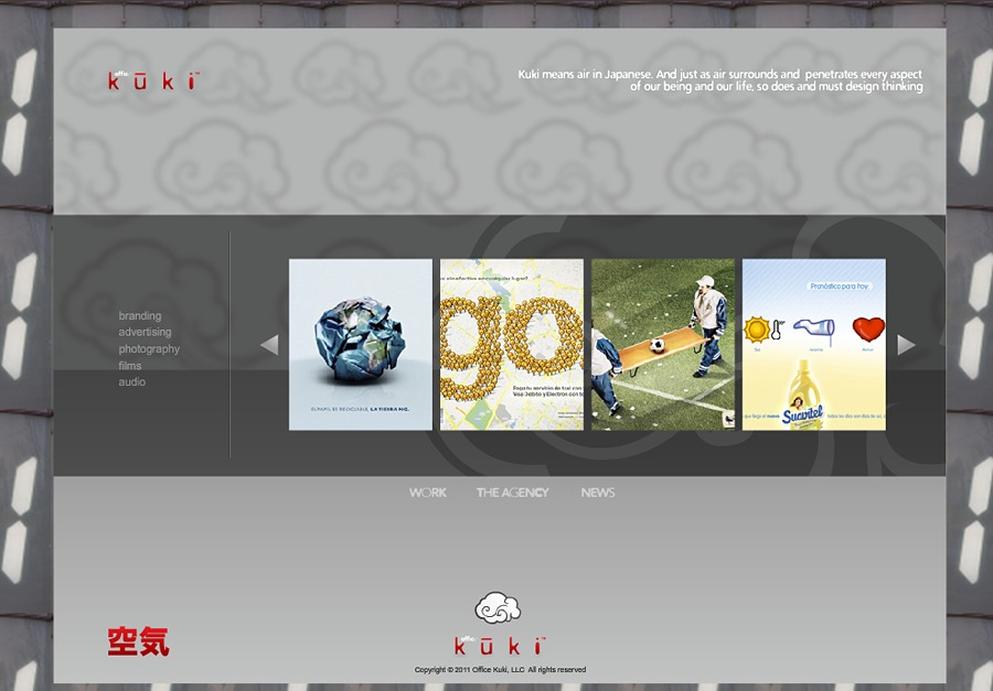 A great web design by Office Kuki - Brand Marketing Agency, New York, NY: