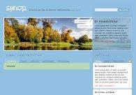 A great web design by Simonsen Design, Oslo, Norway: