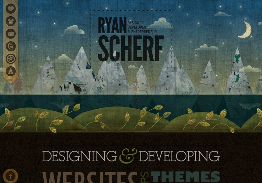 A great web design by Ryan Scherf, Minneapolis, MN:
