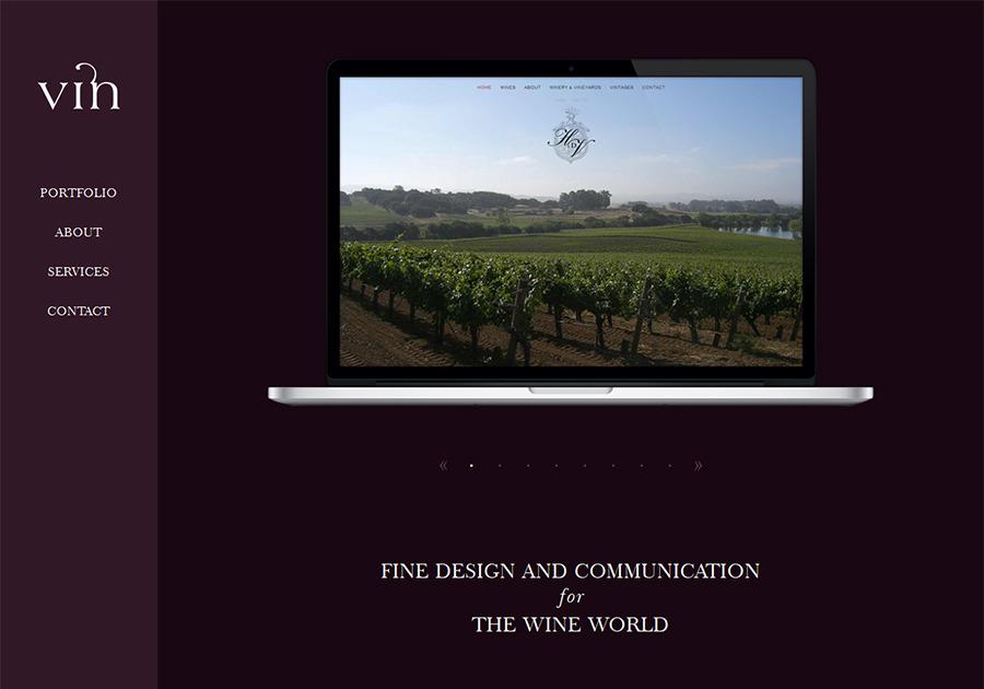 A great web design by Vin, Portland, OR: Food & Beverage