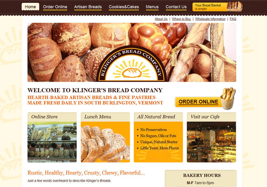 A great web design by Eternity Web, Burlington, VT: