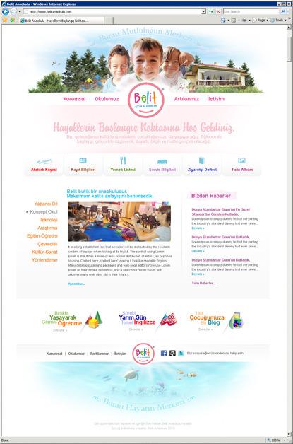 A great web design by Fahrettin Tasdelen, Istanbul, Turkey: