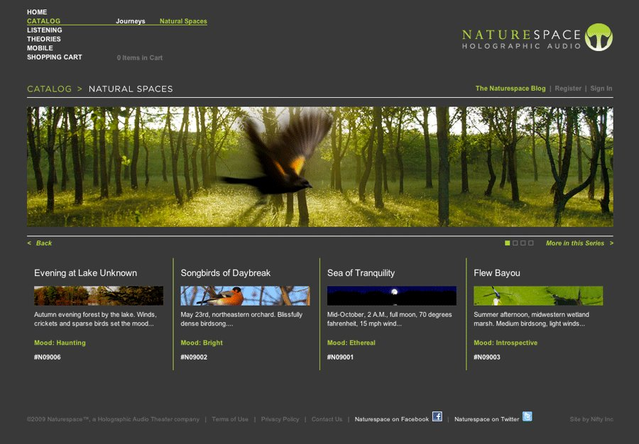 A great web design by Nifty Inc, Chicago, IL: