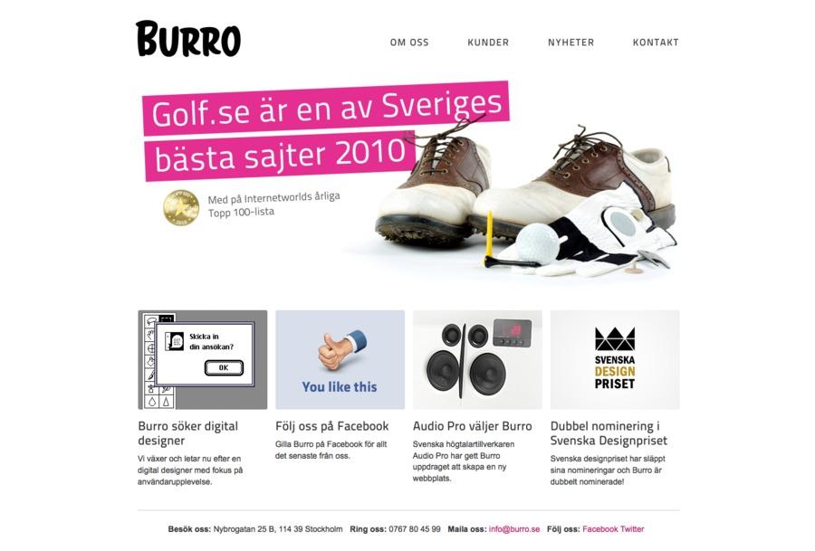 A great web design by Burro, Dallas, TX: