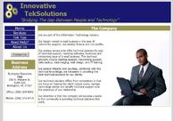 A great web design by Innovative TekSolutions, LLC, Burlington, NC: