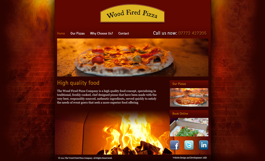 A great web design by Alex Burrows Design, Surrey, United Kingdom: