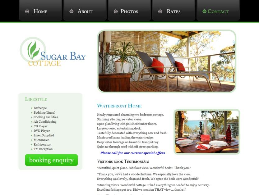 A great web design by jezweb, Newcastle, Australia: