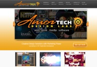 A great web design by Amortech Design Labs, Calgary, Canada: