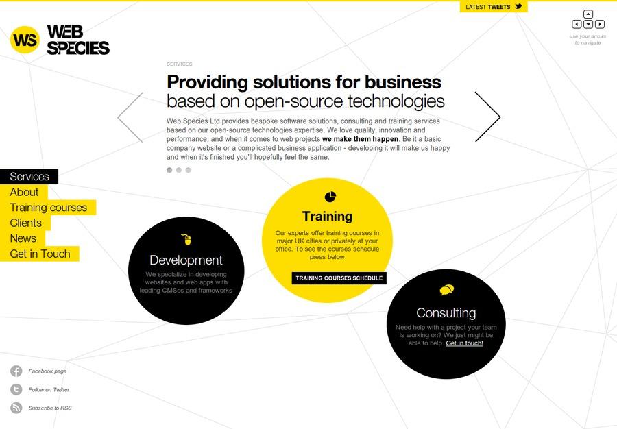 A great web design by Web Species, Edinburgh, United Kingdom: