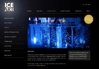 A great web design by TheHotSeat, Gent, Belgium: