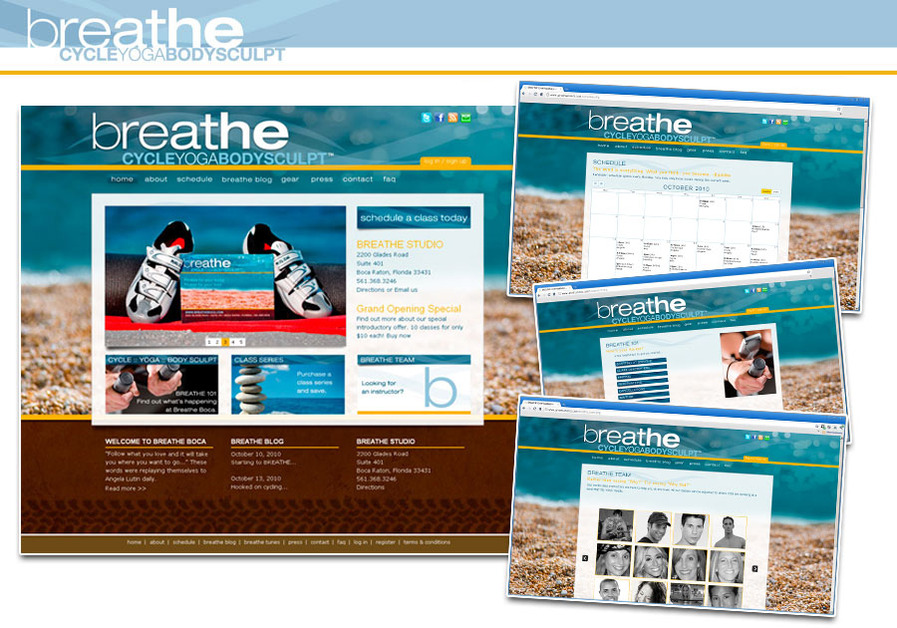 A great web design by ummhumm | creative studio, West Palm Beach, FL: