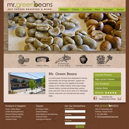 A great web design by Snaptortoise, Portland, OR:
