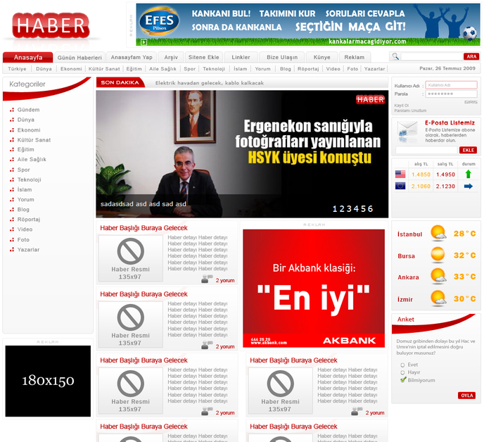 A great web design by newcms, Denizli, Turkey: