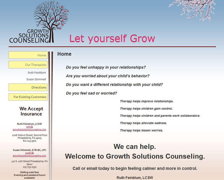 A great web design by Zmei Visuals, Philadelphia, PA: