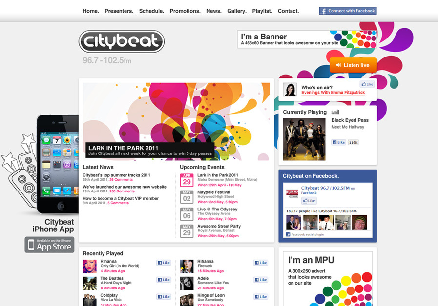 A great web design by Cloud Nine Creative, Belfast, United Kingdom: