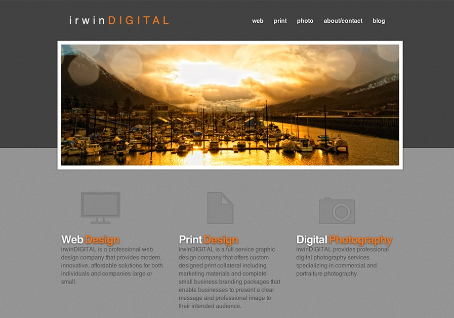 A great web design by irwinDIGITAL, Juneau, AK: